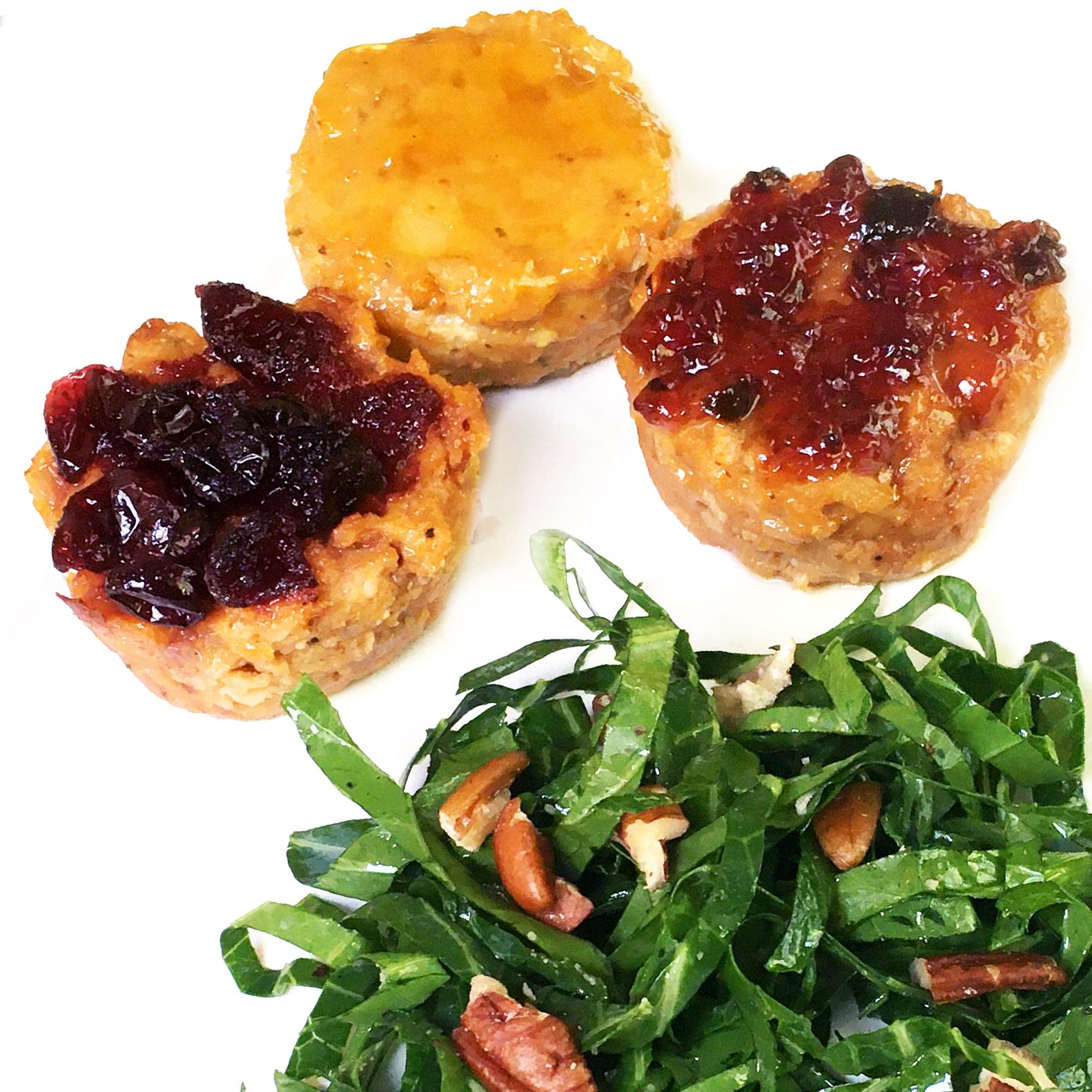Jelly-Glazed Mini Chicken Meatloafs