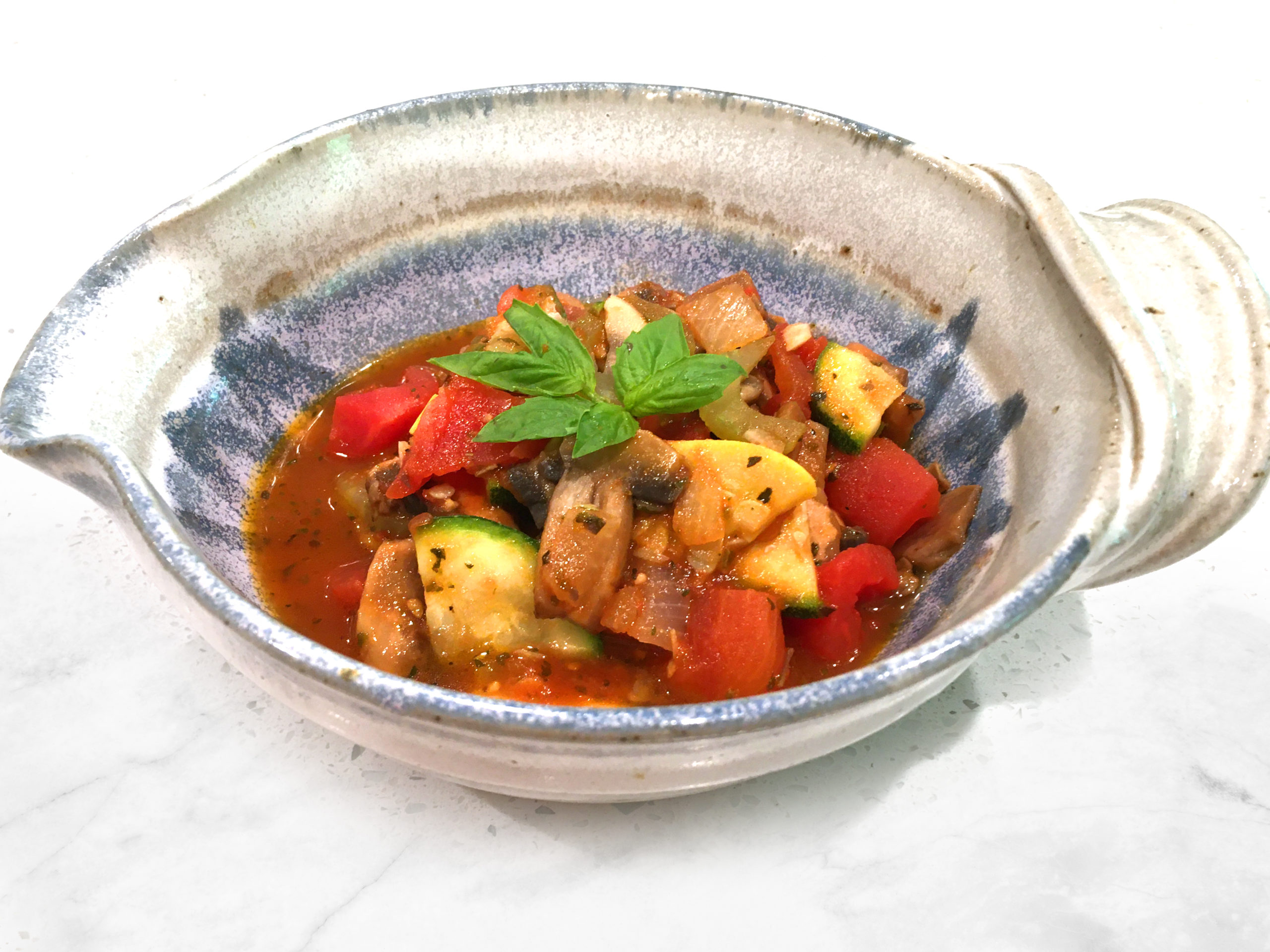 Tomato Braised Vegetables