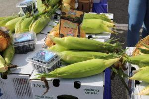 Produce box from Corbett Farms