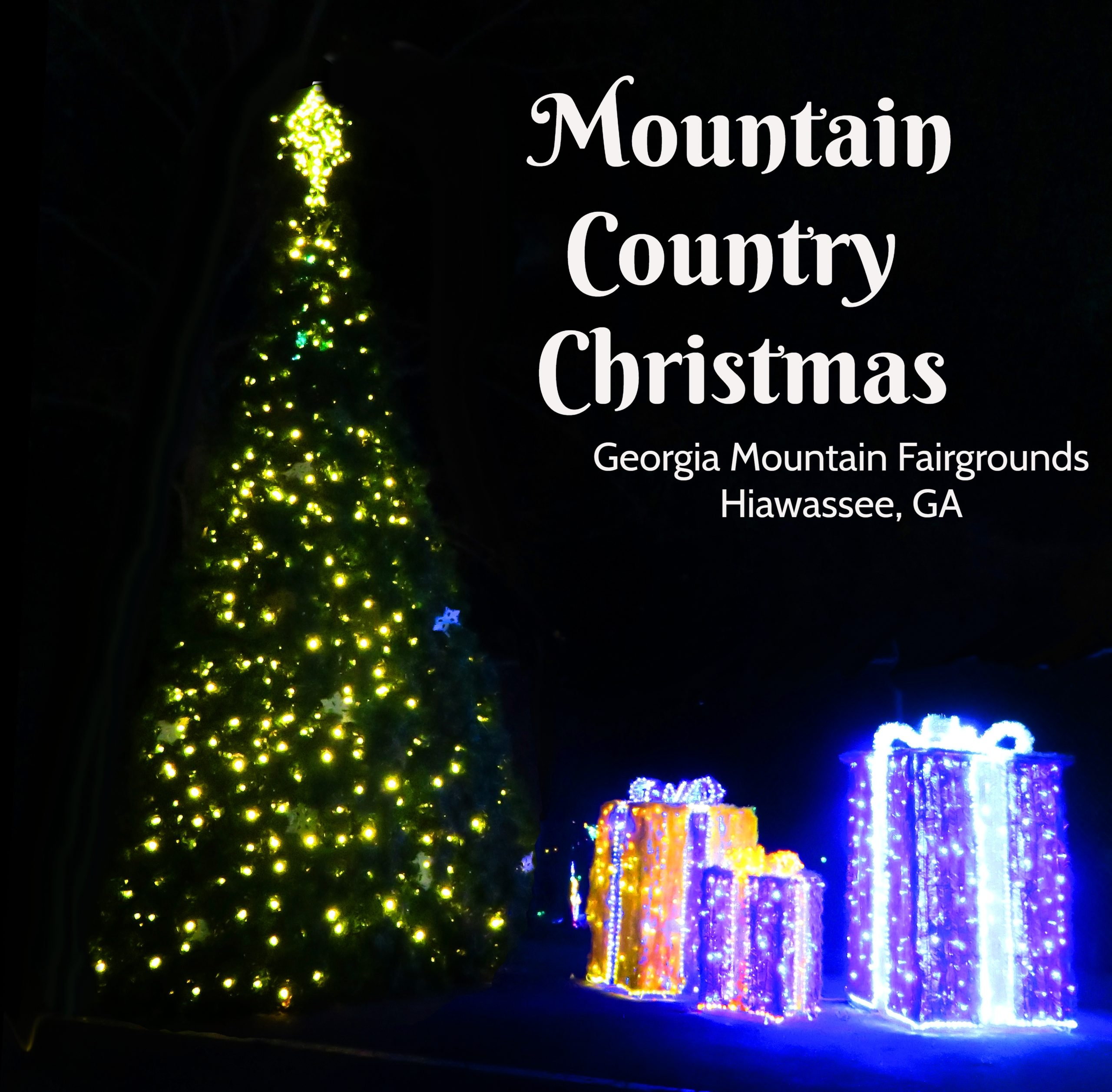 Mountain Country Christmas in Lights